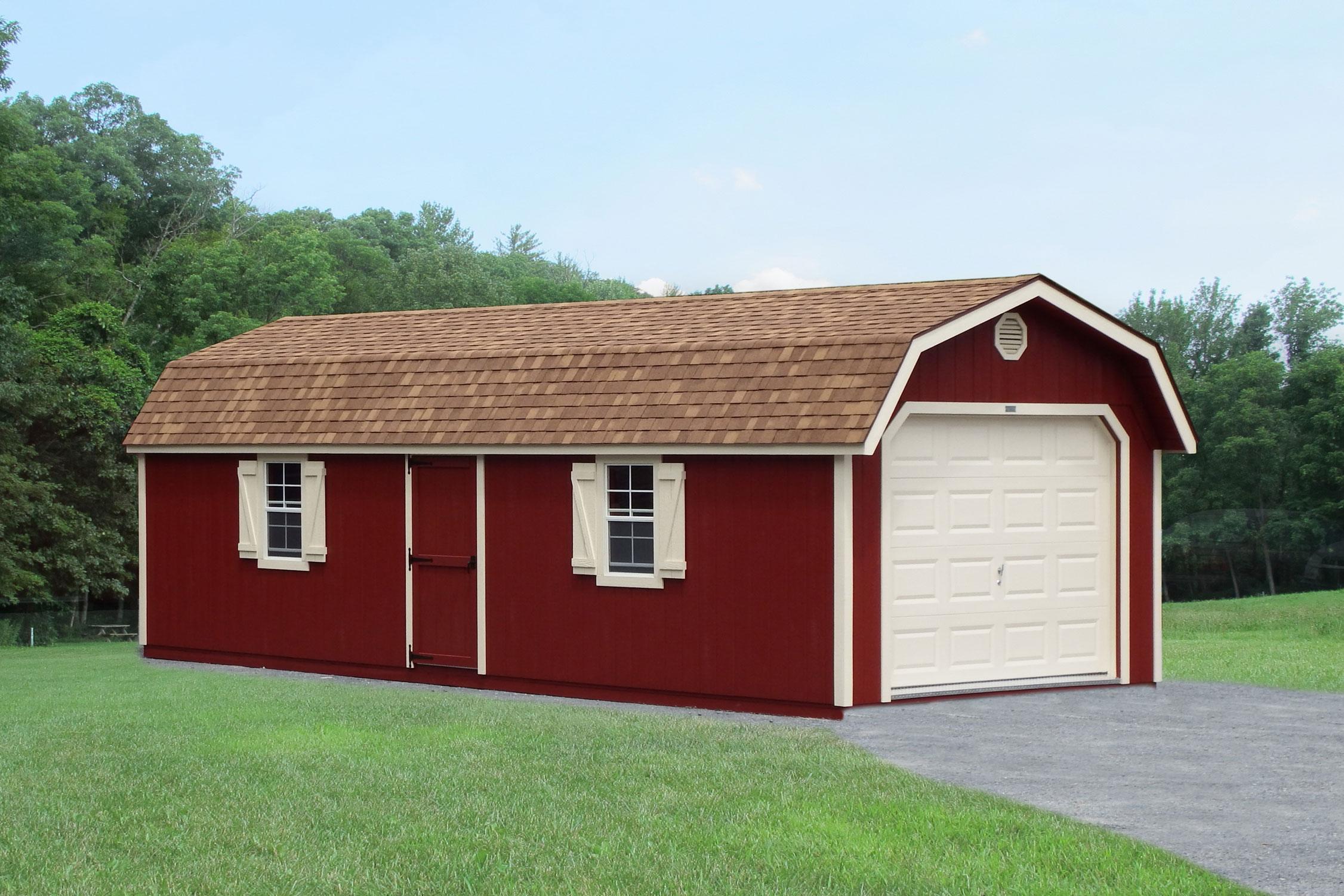 single car garage shed for sale