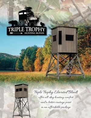Triple Trophy hunting blinds for sale Susquehanna Outdoors