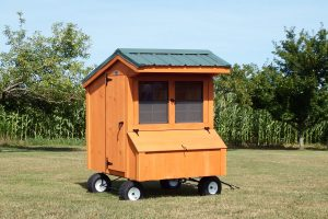 chicken coop on wheels Susquehanna Outdoors