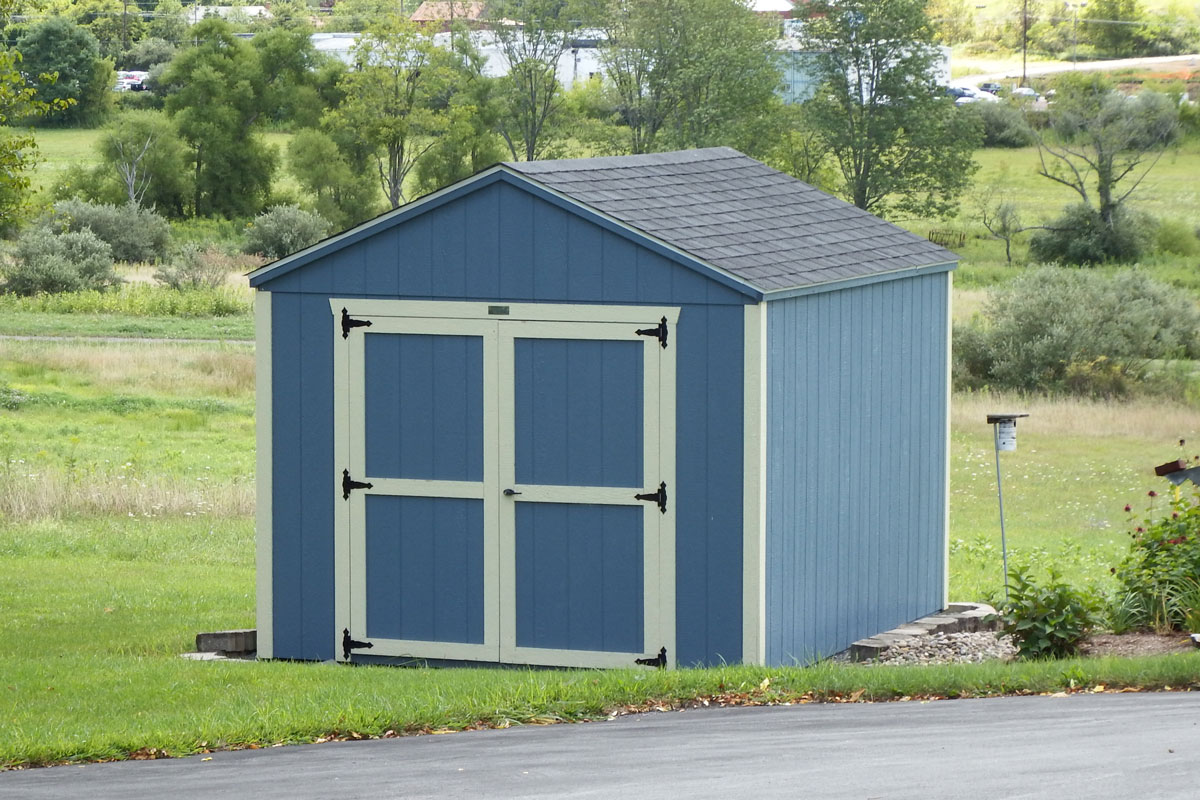 10x12 A-Frame storage shed