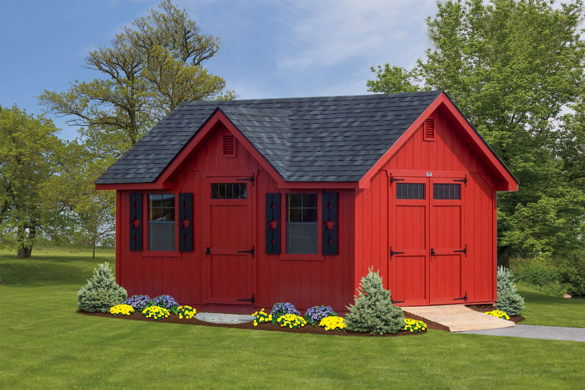 Carriage House shed Susquehanna Outdoors