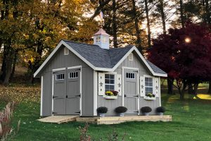 Carriage house shed for sale