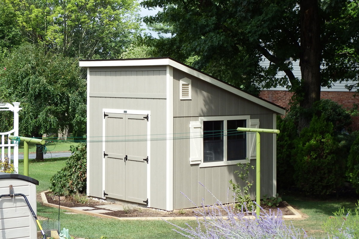 10x10 Lean-To style shed Susquehanna Outdoore