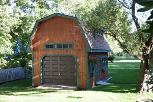 Two Story Patriot Shed