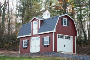 Two Story Patriot Barn