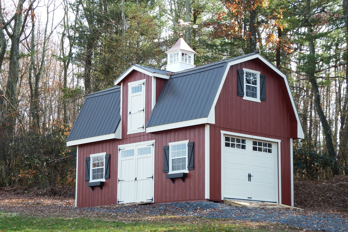 14x24 Patriot Barn with Dormer