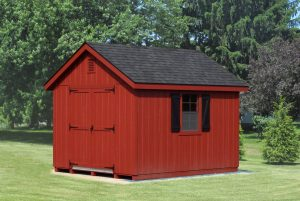 Cape Cod style storage shed