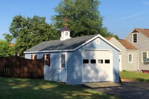 Cape Cod Shed, built by Susquehanna Outdoors