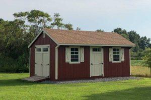 Quaker shed