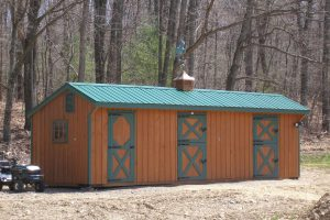 Shed Row Horse Barn, Susquehanna Outdoors