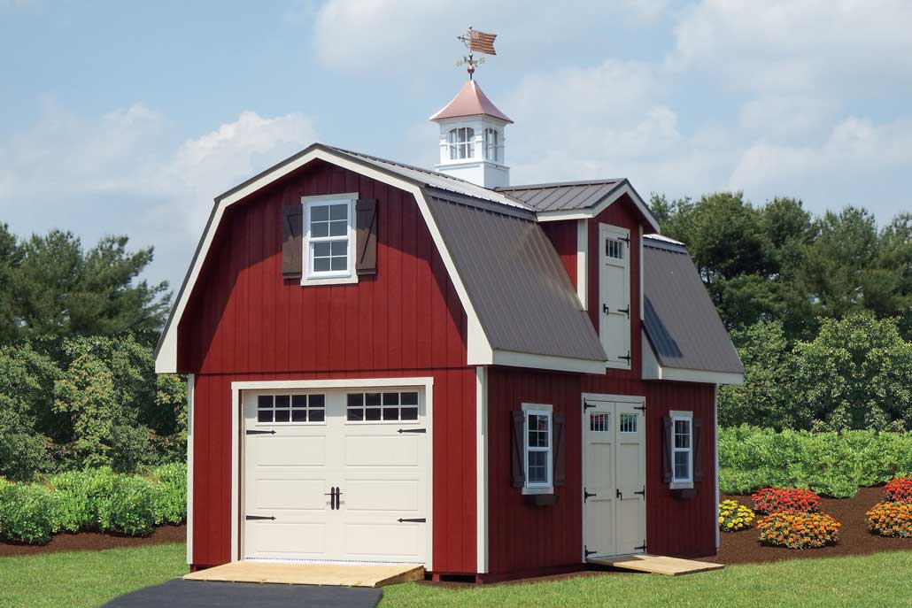 Two story barn garage Susquehanna Outdoors