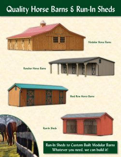 Quality Horse Barns Susquehanna Outdoors