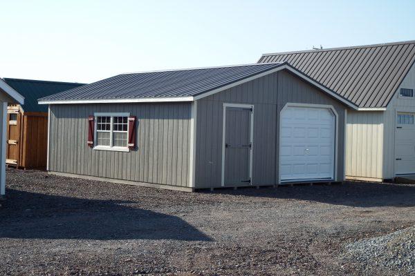 20×24 Double Wide Garage
