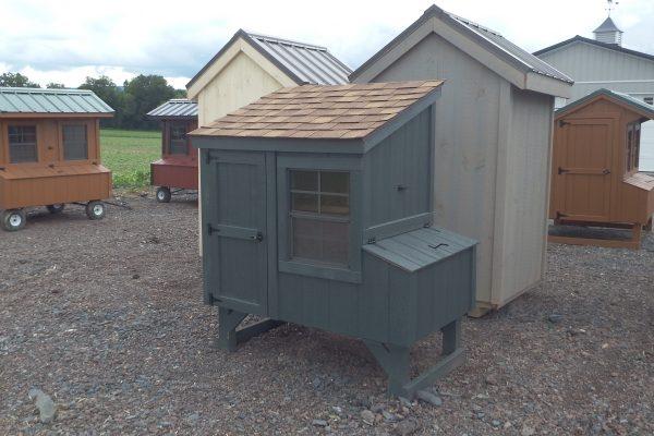 3×4 Lean-to chicken coop