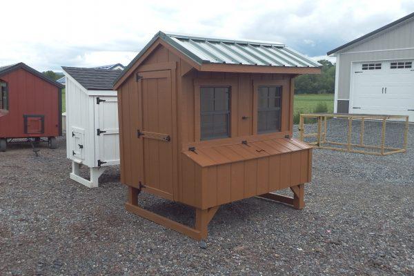 4×6 Quaker chicken coop
