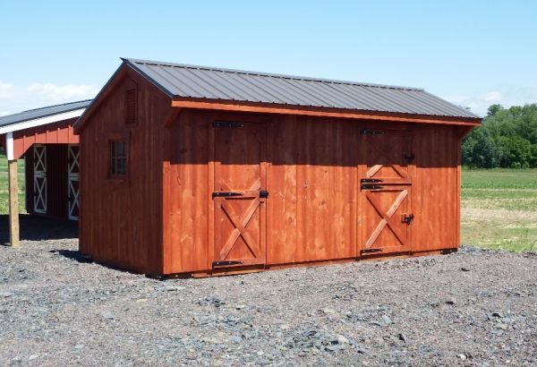 10×20 Shed Row